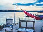 Relax and Watch the World go by Nestled in a Hammock