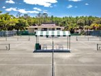 Tennis courts are private and can only be booked & paid for with lesson/clinic through Academy