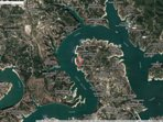 Aerial Photo of Beautiful Lake Travis