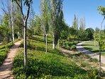 El Parque Cabecera da acceso al Jardín del Turia hacia Ciudad de las Artes las Ciencias y el puerto