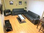 Living Room w/ 2 Sofa Beds