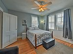 Enjoy the spacious second bedroom.