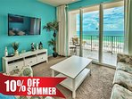 Majestic Sun 403B - Great Gulf Views From Living Room