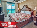 Majestic Sun 911A - Deluxe King Master Suite with Gulf View