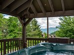 Hot tub for relaxing