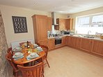 Spacious dining kitchen,well equipt cater for all