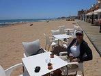 beautiful promenade with cosy restaurants
