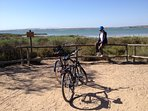 national park of the lagoon of La Mata behind the residency, 2 city bikes available