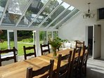 Dining room for 16 peple