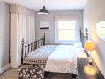 Super Kingsize bed in Master bedroom. Stunning views over the secluded garden.