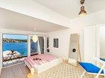 Master bedroom 1, opening onto sea view balcony