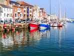 Customs House Quay at Weymouth