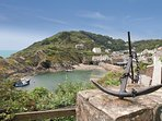 Polperro within easy reach