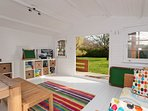 Games and children playroom