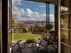 Spectacular views from the veranda