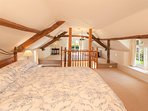Spectacular master bedroom with its very own walk in wardrobe