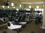 Fully equipped weight room located on the second floor of the complex. Treadmill and bike for cardio