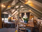 Cosy country loft with King bed