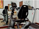 Small gym in the residential