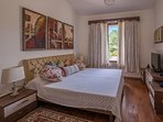 Air conditioned Bedroom with TV