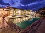 Beautiful Evening Villa View