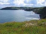 Cliffs above Gorran Haven