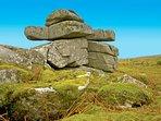 Granite moorland quoit