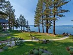 Expansive views of Lake Tahoe and the surrounding mountains from everywhere on the grounds.