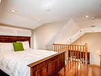 Another view of the carriage house loft