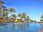 The Infinity Edge pool (one of 4 pools at Honua Kai) is great for lap swimming in the morning or watching the sunset in...