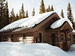 During the winter months, you can enjoy being nestled in a snowy paradise.