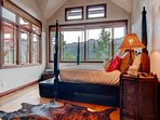 Wake up to amazing views of the San Sophia range in Master Bedroom #1.