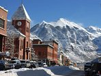 Head down into the town of Telluride for dinner.