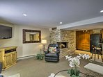 The Aspen slopes await just minutes from this vacation rental apartment.