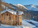 Picture-perfect lodging.