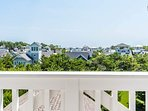 Take a peek at the Gulf from the observation room in the Crow's Nest