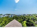 The view from the Crow's Nest helps you get the lay of the land in WaterSound.