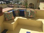 Rear Terrace overlooks the Pool!
