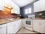 Kitchen equipped with all the basic amenities.