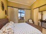 Master bedroom, king bed, private bath, ocean views