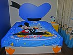 Donald Duck Bedroom with King Size Bed