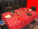 Eat Drink Enjoy with Mickey Dining Set