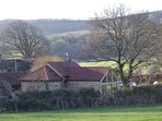 rural setting, surrounded by wildlife and mature gardens. SSSI and AONB
