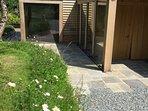 wildflower patch by your door