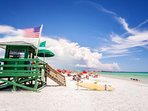 Trip Advisor rated Siesta Key Beach the #1 beach in the US and ranked #1 beach in 2017 by Dr. Beach.