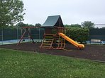 Part of a  great playground for the kiddies. 4 minute walk from house!