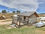 Experience the Black Hills from this cozy studio cabin with room for 2.