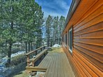 You'll be one-with-nature when you stay at this amazing cabin!