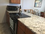 Newly decorated kitchen Granite counter tops, and new cabinets