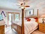 Bedroom 3, featuring a queen bed, also gives you the option for a quick getaway or a view of what's right outside.